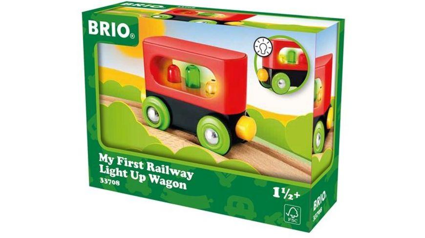 BRIO Bahn Mein erster BRIO Waggon mit Licht