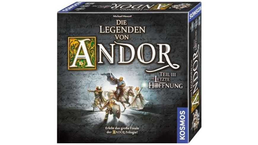 KOSMOS Die Legenden von Andor Teil III Die letzte Hoffnung