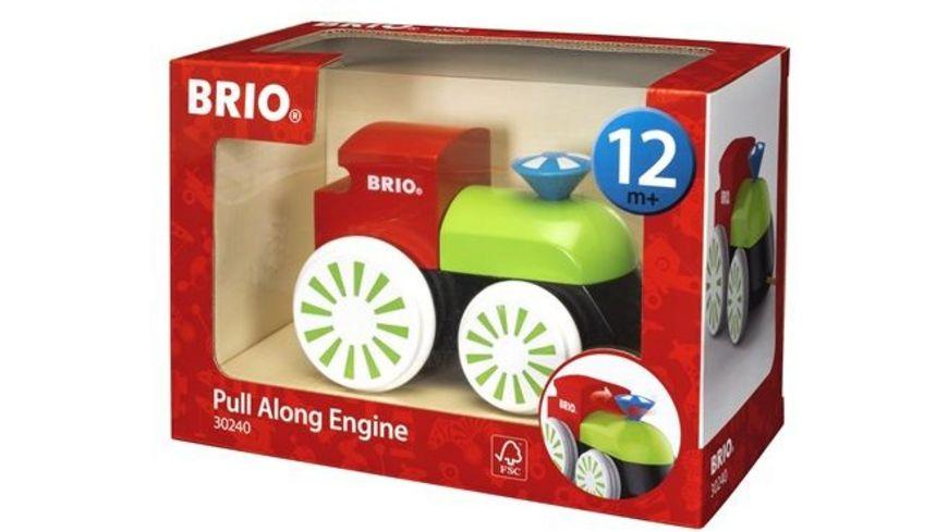 BRIO Toddler Push Pull Alongs Bunte Nachziehlok