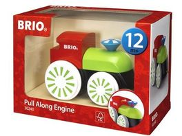 BRIO Toddler Push Pull Alongs Bunte Nachziehlok