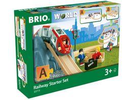 BRIO Bahn Eisenbahn Starter Set A