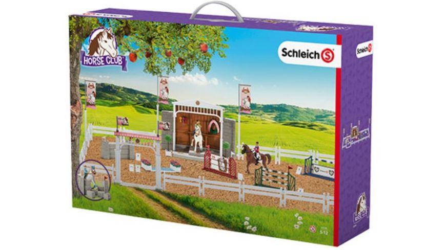 Schleich 42338 Horse Club Grosses Reitturnier mit Pferden