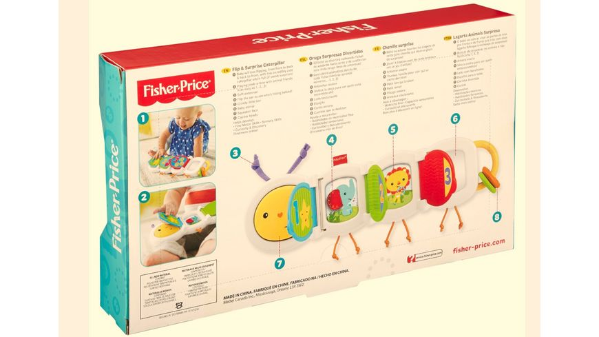 Fisher Price Babys Spielraupe