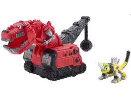 Mattel Dinotrux Die Cast T Rux und Repto