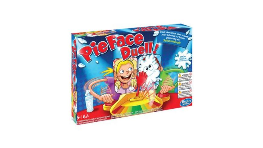 Hasbro Gaming Pie Face Duell
