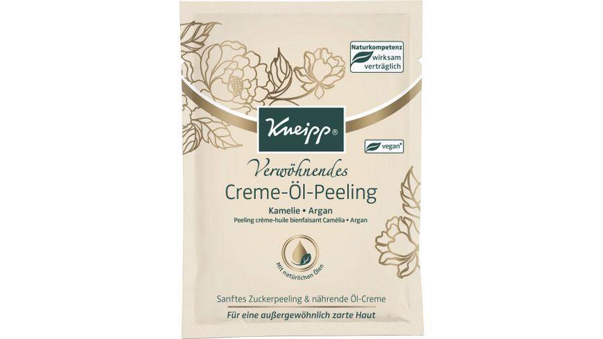 Kneipp Verwoehnendes Creme Oel Peeling