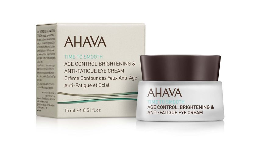 AHAVA Age Control Brightening Anti Fatigue Eye Cream
