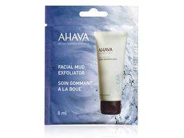 AHAVA Facial Mud Exfoliator Single Use