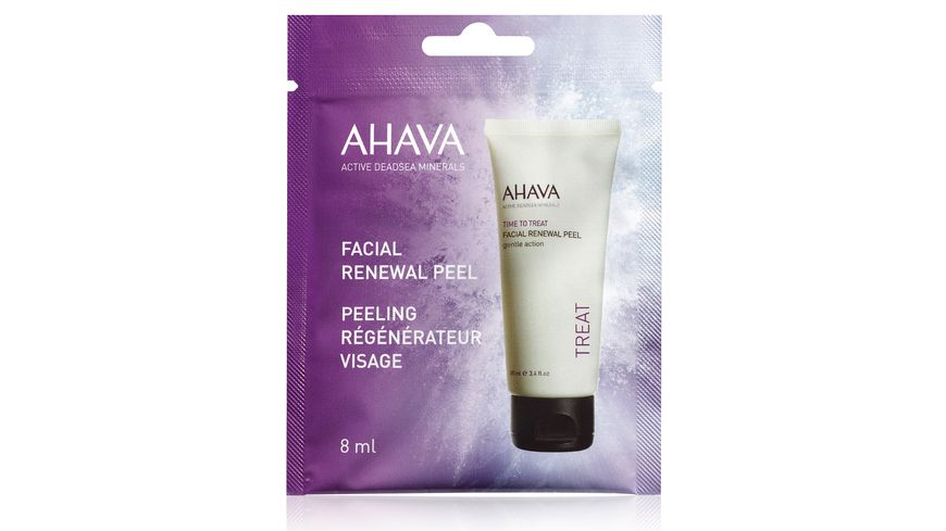 AHAVA Facial Renewal Peel Single Use