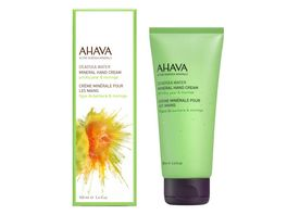 AHAVA Mineral Hand Cream Prickly Pear Moringa