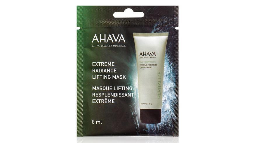 AHAVA Extreme Radiance Lifting Mask Single Use