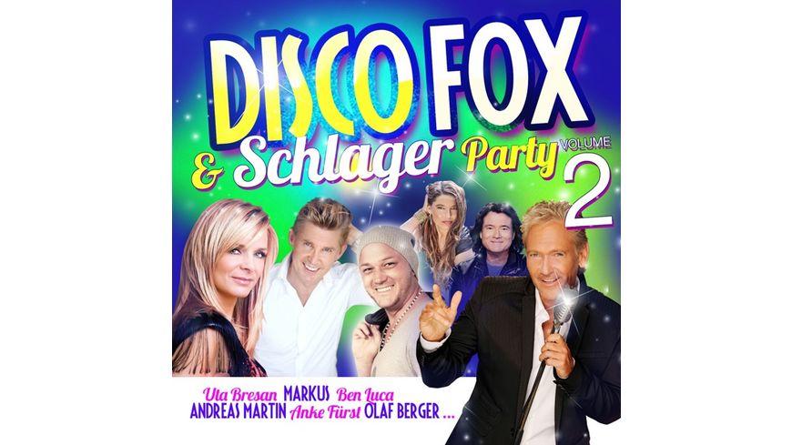 Disco Fox Schlager Party Vol 2