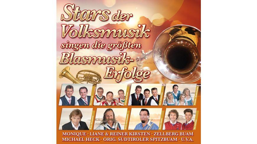 Die Stars der Volksmusik singen die groessten Blasmu