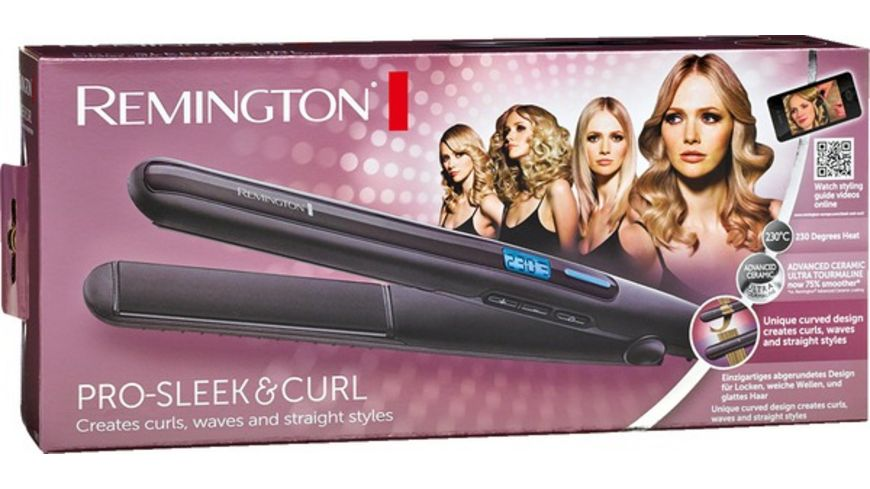 REMINGTON Haarglaetter Pro Sleek Curl S6505