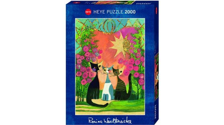 Heye Standardpuzzle 2000 Teile Roses Rosina Wachtmeister