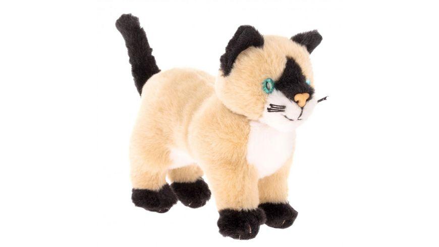 Bauer Tiere mit Herz Siam Katze 15cm