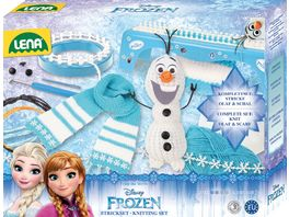 Lena 42005 Disney Strickset Frozen 2 in 1