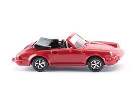 WIKING 016203 Porsche 911 SC Cabriolet rot