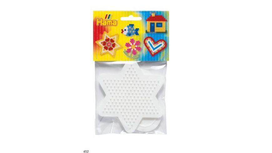 Hama Beutel mit 2 Stiftplatten kleines Herz kleiner Stern