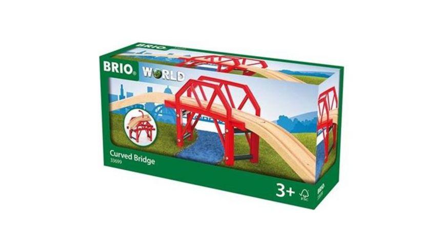 BRIO Bahn Bahnbruecke mit Auffahrten
