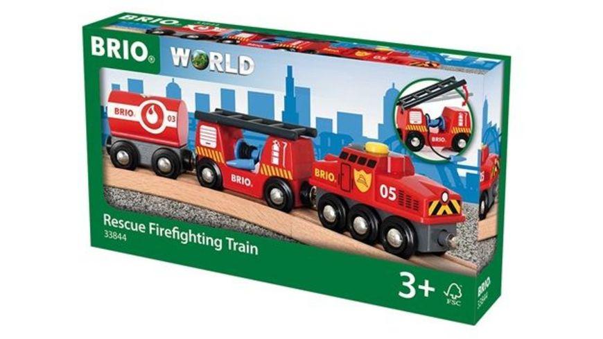BRIO Bahn Feuerwehr Loeschzug