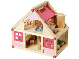 Beluga Puppenhaus mit Moebeln