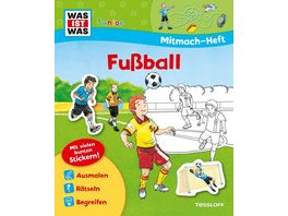 Was ist Was Junior Mitmach Heft Fussball