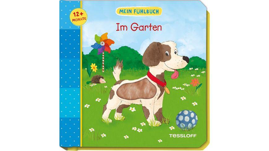 Fuer die Kleinsten PappbilderMein Fuehlbuch Im Garten