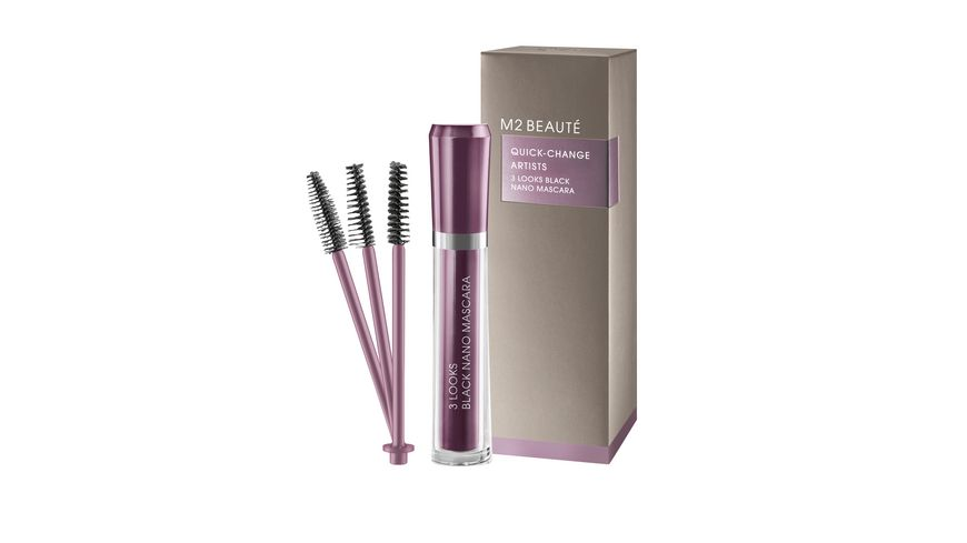 M2 BEAUTE 3 Looks Black Nano Mascara
