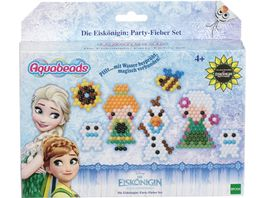 Aquabeads Frozen Die Eiskoenigin Aquabeads Party Fieber Set