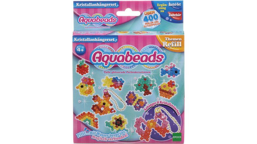 Aquabeads Kristallanhaengerset 400 Stueck