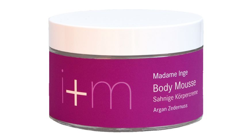 i m Madame Inge Body Mousse Argan Zedernuss