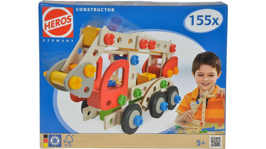 Eichhorn Constructor Feuerwehrauto