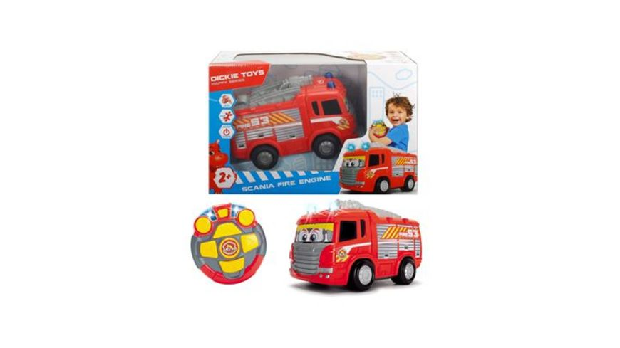 Dickie RC Happy Scania Fire Engine
