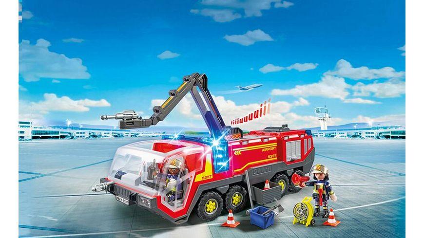 PLAYMOBIL 5337 Flughafenloeschfahrzeug mit Licht und Sound