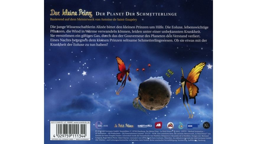 27 Original HSP TV Der Planet Der Schmetterlinge