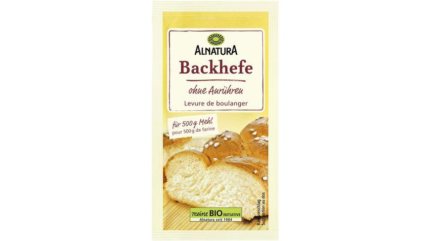 Alnatura Backhefe