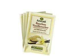 Alnatura Bourbon Vanillezucker 4er Pack