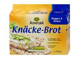 Alnatura Knaeckebrot Roggen und Dinkel