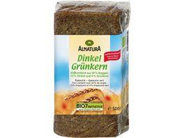 Alnatura Dinkel Gruenkern Brot