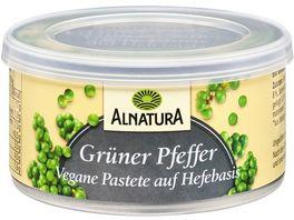 Alnatura Vegane Pastete auf Hefe Basis Gruener Pfe