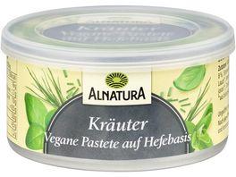 Alnatura Vegane Pastete auf Hefe Basis Kraeuter