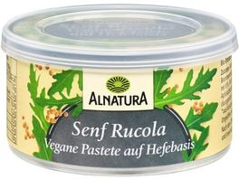 Alnatura Vegane Pastete auf Hefe Basis Senf 125G