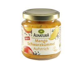 Alnatura Brotaufstrich Mango Schwarzkuemmel