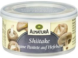 Alnatura Vegane Pastete auf Hefe Basis Shiitake