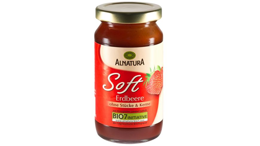 Alnatura Fruchtaufstrich Soft Erdbeere