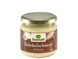 Alnatura Brotaufstrich Zwiebel Schmalz