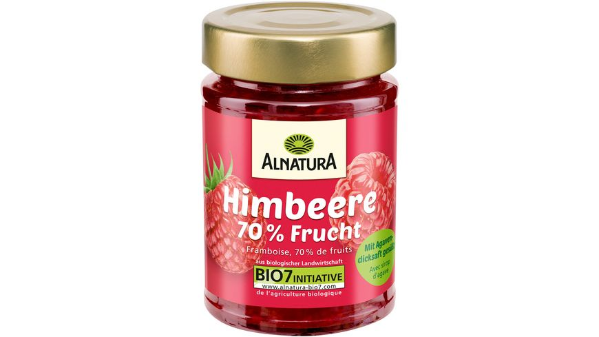 Alnatura Fruchtaufstrich Himbeere 200G