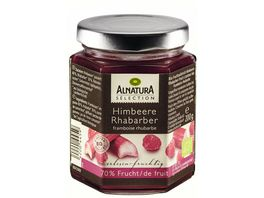 Alnatura Selection Fruchtaufstrich Himbeere Rhabarber 200G