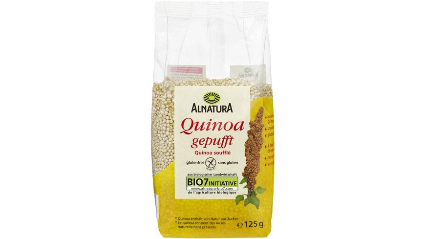 Alnatura Quinoa gepufft